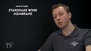 How To Paint: Stardrake Wing Membrane