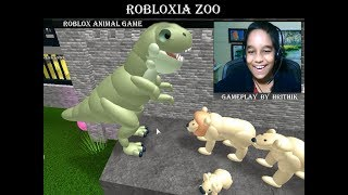 Roblox - Robloxia Zoo, Gameplay by Hrithik