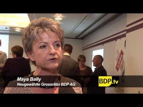 BDP Videonews zum Wahlerfolg im Kanton Aargau und DV Neuenburg 2012