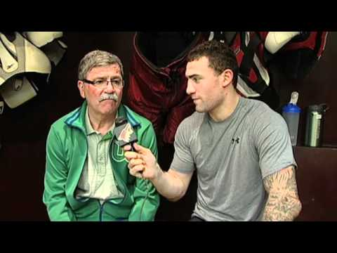 Paul Bissonnette and his Dad!
