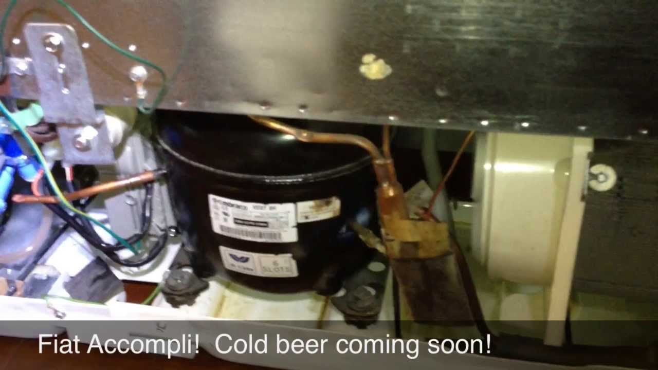 troubleshooting and repairing a warm ge refrigerator with an inverter  compressor - youtube