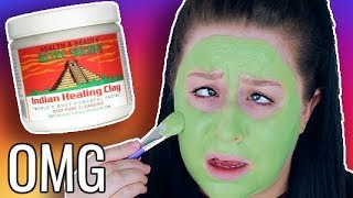 TESTING THE WORLDS MOST POWERFUL FACE MASK!!