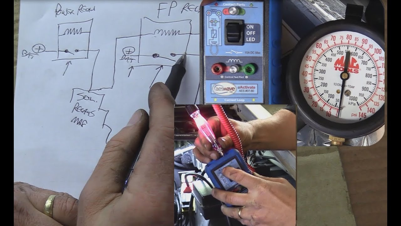 Ford Eec Iv No Start No Fuel Pressure Troubleshooting Lincoln Towncar