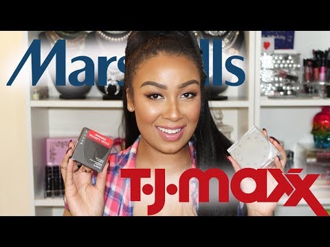 NEW Highend Makeup and Shoes | TJ Maxx & Marshalls Haul 2019