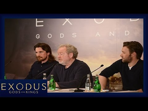 Exodus : Gods and Kings - Conférence de presse à Paris [Offi