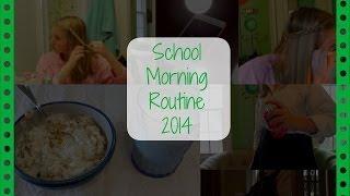 School Morning Routine! (2014) Thumbnail