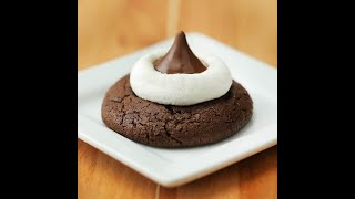 KISSES Hot Cocoa Cookies // Presented By HERSHEY'S Chocolate