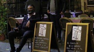 Roma, proteste e piazze chiuse: prima notte di coprifuoco