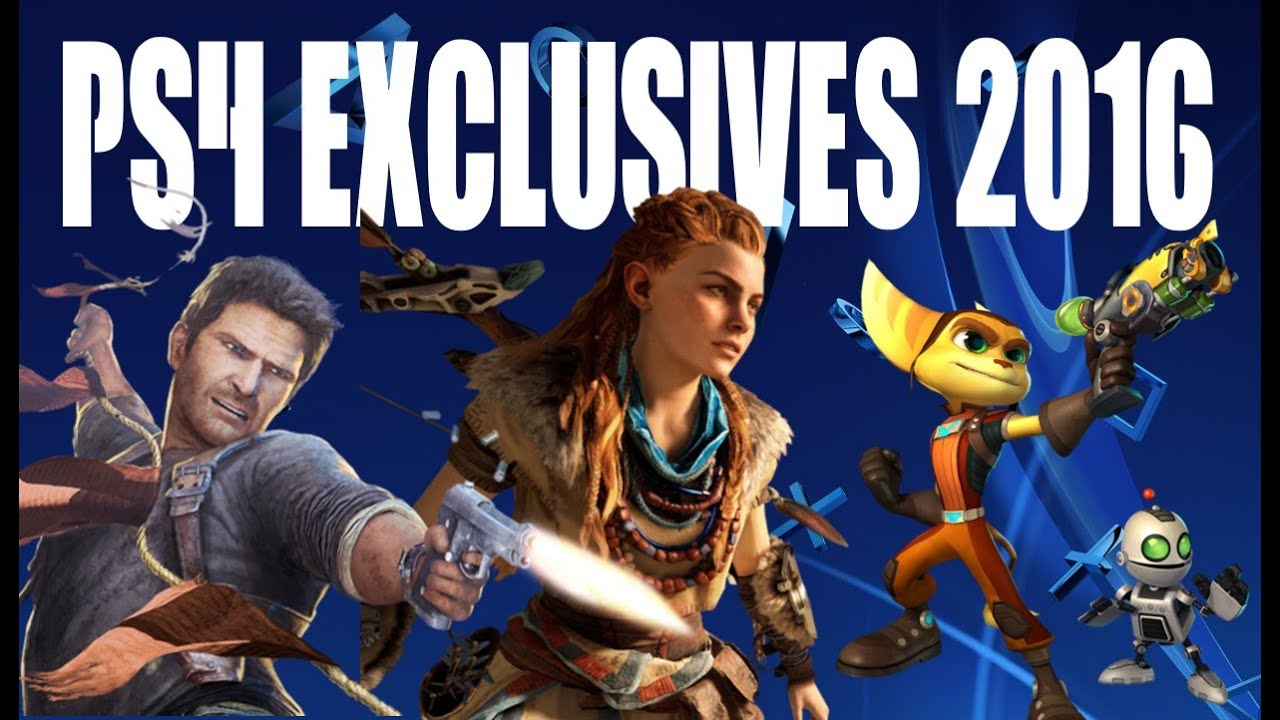 Games Released With Ps4 : Ps games exclusive list new schedule to