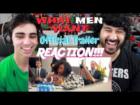 WHAT MEN WANT (2019) - Official TRAILER REACTION & REVIEW!!! Mp3