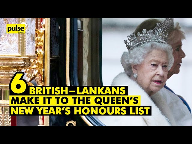 Six British Lankans Make it to the Queen's New Year's Honours List