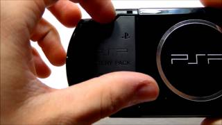 How To Remove A PSP Battery