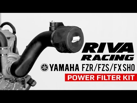 RIVA Racing Yamaha FZR FZS FX SHO Performance Power Filter Kit