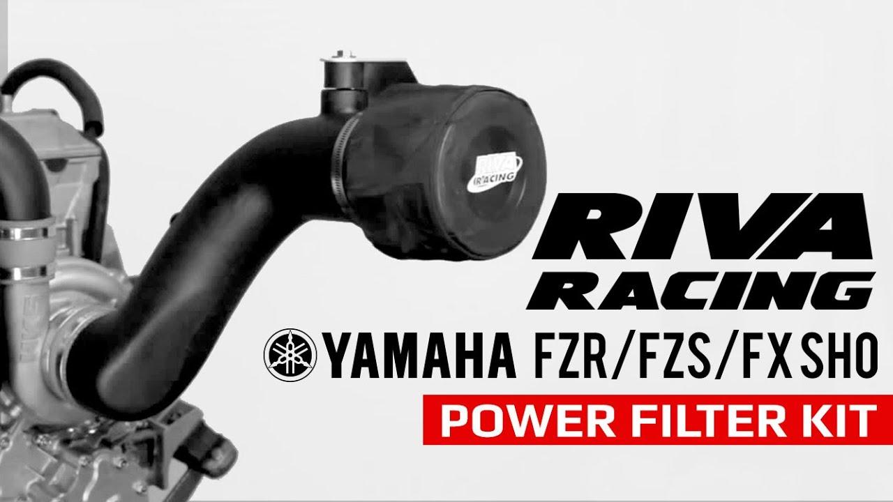 Riva Yamaha WaveRunner  FZR FZS FX-SHO Performance Power Cool Air Filter Kit