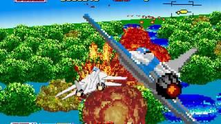 After Burner II Longplay (Saturn) [60 FPS]