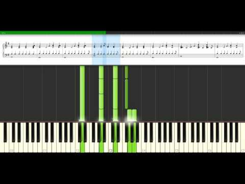 Keane - Hamburg song [Piano Tutorial] Synthesia
