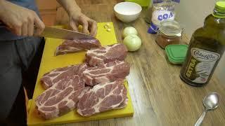 Как да си приготвите чудесни свински вратни пържоли! Чудесна рецепта!