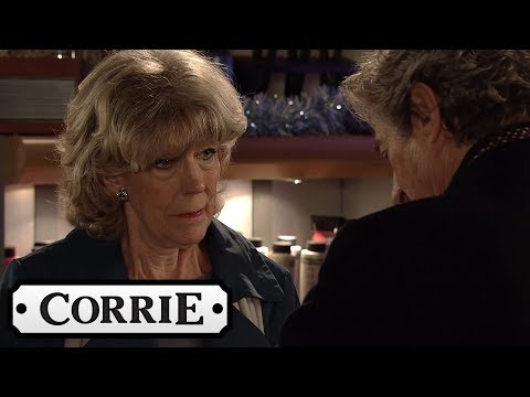 Coronation Street - Lewis Makes Sure Audrey Won't Ditch Him for Dinner