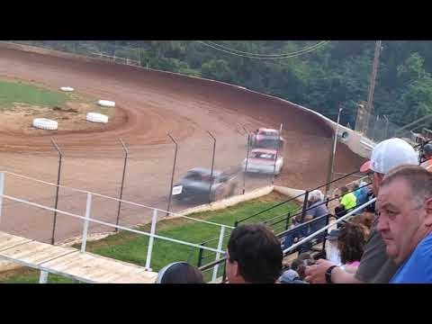 Lake Cumberland Speedway Grassroots Hobby Stock hot lap #1  6/29/19