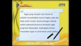 Video iTTV UPSR Year 4 Bahasa Malaysia #3 Menulis Nilai Murni atau Pengajaran (1) -tuition download MP3, 3GP, MP4, WEBM, AVI, FLV Juli 2018