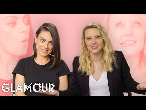 Mila Kunis and Kate McKinnon: Thats Not How We Met | Glamour