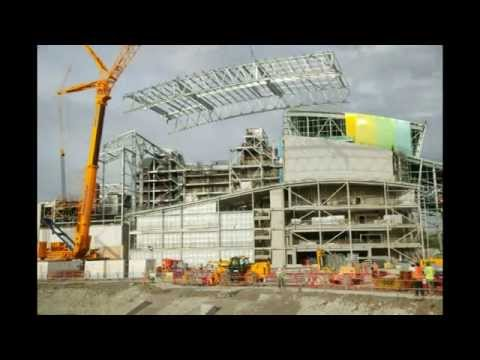 Ardley Energy from Waste (EfW) Facility time lapse