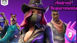 Fortnite Mobile Requirements For Android | Fortnite Mobile Download
