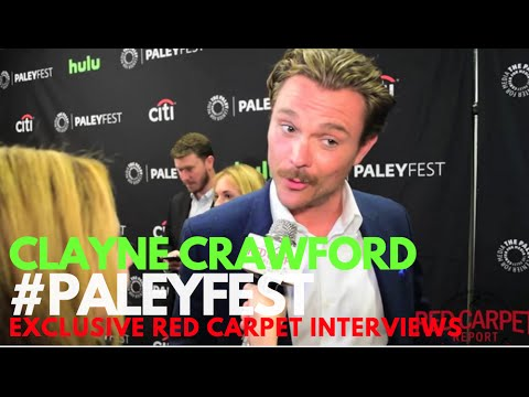 Clayne Crawford interviewed at PaleyFest Fall Preview for Lethal Weapon #LethalWeaponFOX #PaleyFest