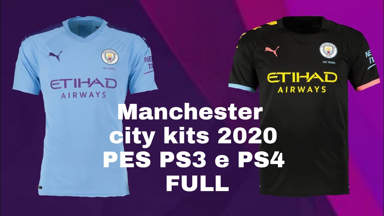cheap for discount 93535 24357 Manchester city kits 2020 PES PS3 e PS4(FULL