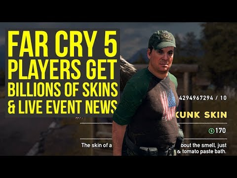 Far Cry 5 Live Event News, Players Get Billions of Skins & More Far Cry 5 News (Far Cry 5 DLC)