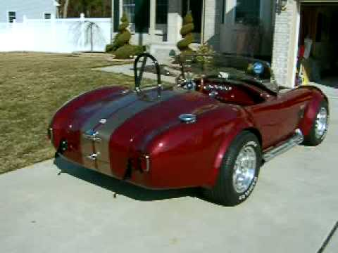 Hotrodharrys Ac Shelby Cobra Kit Car Idling Youtube