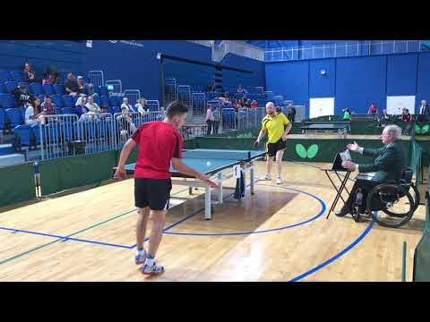 Paul McCreery, vs. Michal Korycki, Irish Senior Classification 2017, semi-final