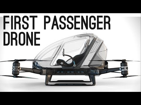 Passenger Drones and Flying Cars | 5 Best Personal Aircraft 2017