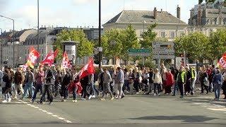 Manifestation ce mardi à Angers contre la réforme du Code du travail