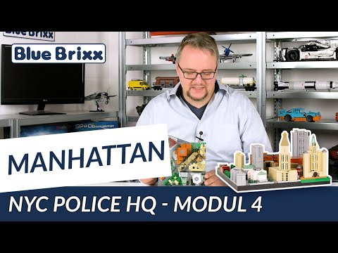 Manhattan-Modul 4 - NYC Police HQ von BlueBrixx