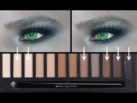HOW TO SMOKEY EYE FOR FOR (VERY) HOODED EYES