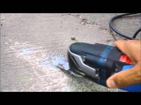 DIY Bosch, DeWalt, Makita, Milwaukee/ How to make a multi tool scraper / home depot oscillating tool