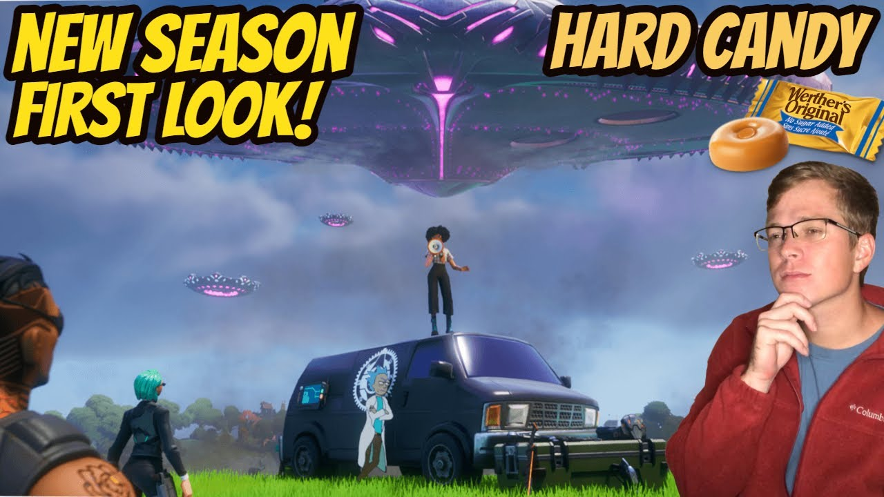 ASMR Gaming: Fortnite   Relaxing Season 7 First Look! - Hard Candy & Whispering
