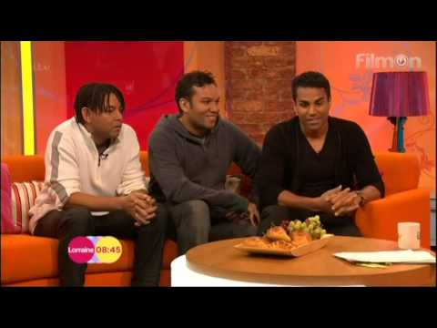 3T interviewed by Lorraine 21 Feb 2014