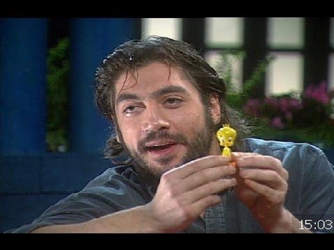 """Javier Bardem en """"El programa de Carlos Herrera"""" (1996)"""