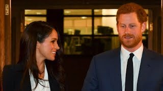 Meghan Markle 'privileged' to present prize with Prince Harry at Endeavour Fund Awards | ITV News