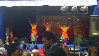 TIGPS mankundu Stage function and exivition
