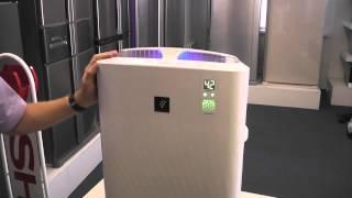видео Очиститель воздуха Sharp KC-D51RW
