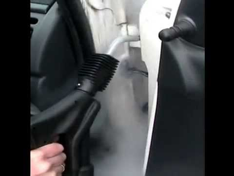 steam powered car cleaning auto schoonmaken met stoom knol cleaning solutions