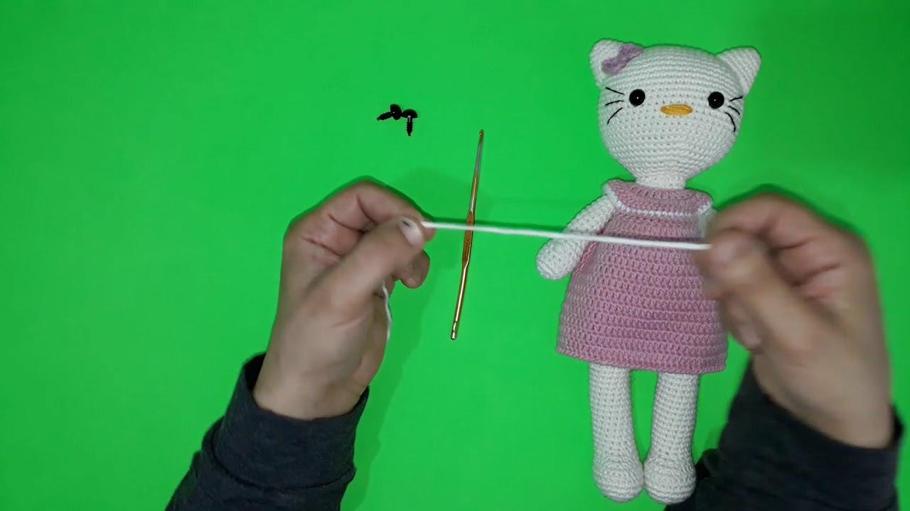 Ravelry: Amigurumi Hello Kitty Anahtarlık Yapımı pattern by Şengül ... | 720x1280