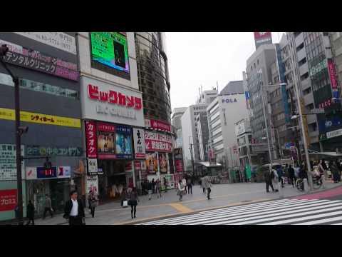 Talking ads Tokyo
