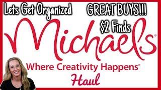Michael's Haul 2019 | Organization Haul