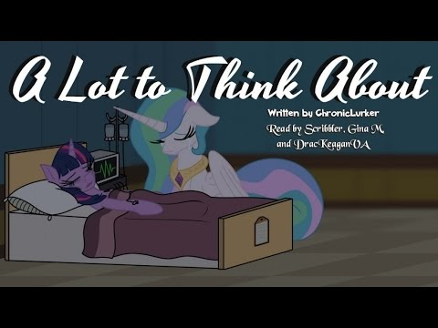 Pony Tales [MLP Fanfic Reading] A Lot to Think About (sadfic/tragedy/AU)