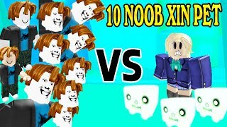 Fake 10 Noob Troll please Pet Pro Super Comedy | ROBLOX Pet Simulator