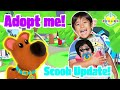Ryan babysits Scooby and Daddy on Adopt Me Roblox! Unlocked flying Scooby mission